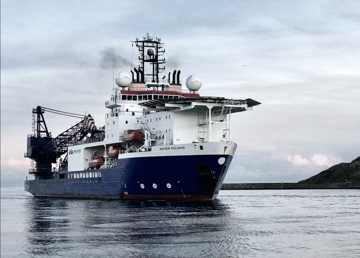 The Rever Polaris is providing dive support, light construction, subsea maintenance and other offshore services in the North Sea.
