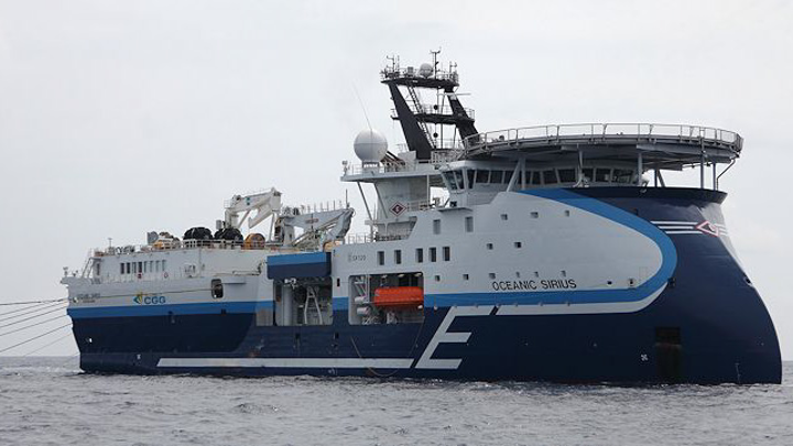 The Oceanic Sirius is one of five high-end streamer vessels that Shearwater GeoServices will purchase under the binding term-sheet.