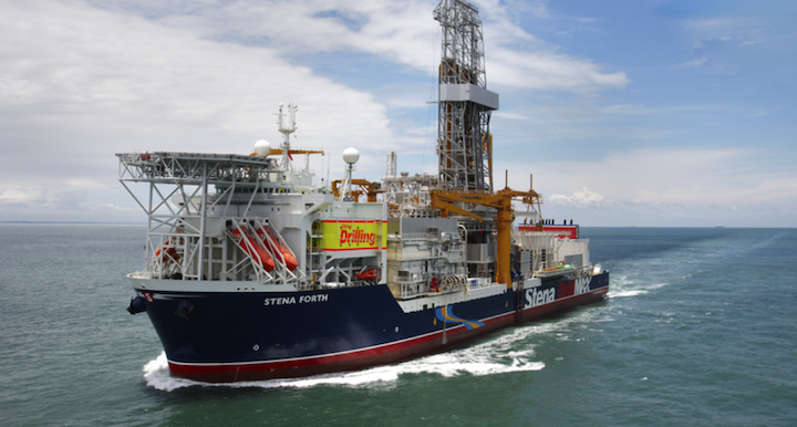 The drillship Stena Forth will first drill the Jethro Lobe prospect offshore Guyana.