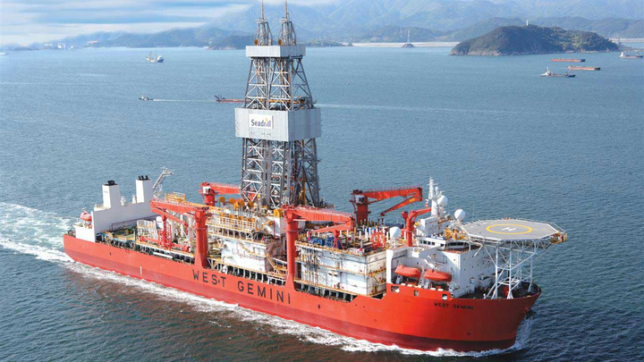 The drillship West Gemini drilled the Agidigbo-1 NFW in block 15/06 offshore Angola.