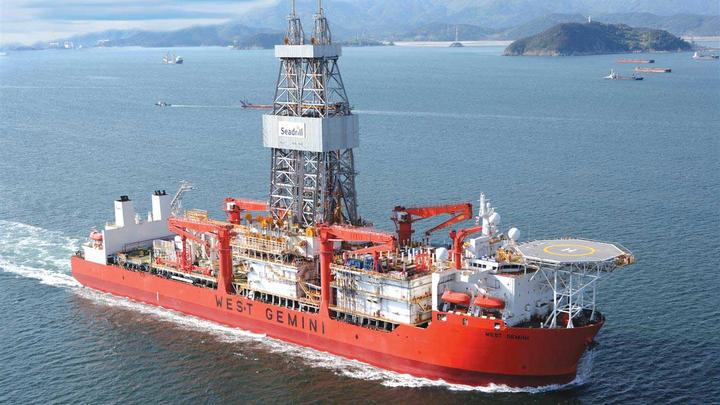 The ultra-deepwater drillship West Gemini most recently drilled for Eni offshore Angola.