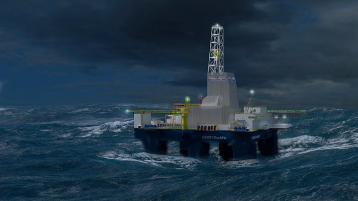 Keppel FELS is expected to deliver the harsh environment semisubmersible drilling rig in March 2021.