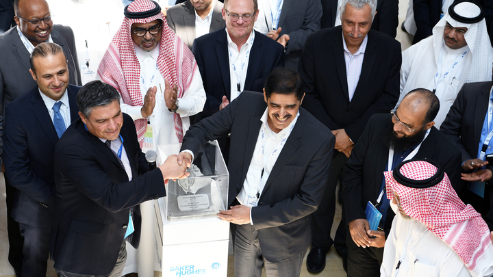 Opening of the BHGE research facility at Dhahran Techno Valley.