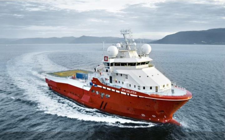The BOA Galatea is expected to be renamed Fulmar Explorer.