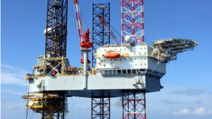 The jackup ENSCO 115 will drill three new development wells on the Manora oil field in the Gulf of Thailand.