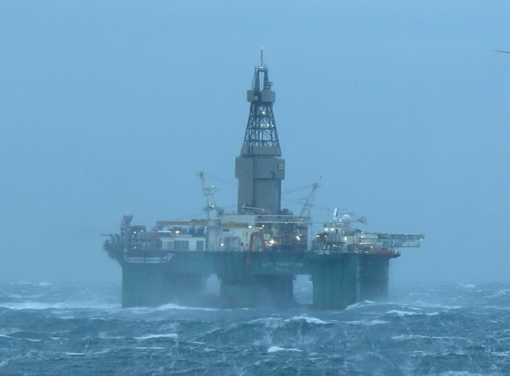 The semisubmersible Leiv Eiriksson will drill well 25/7-7 in license 782 S in the Norwegian Sea.