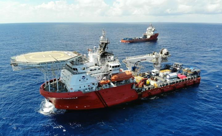 The MMA Pinnacle is a multi-purpose service vessel.