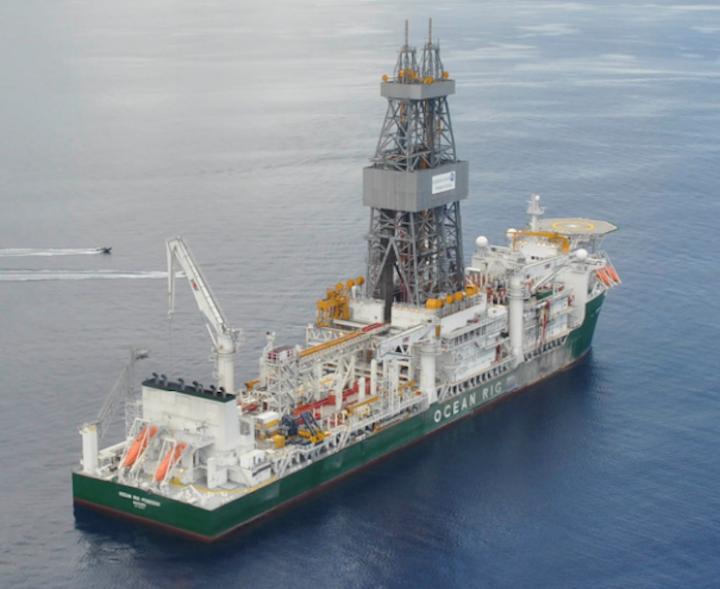 The drillship Ocean Rig Poseidon drilled Agogo-2 in block 15/06 offshore Angola.