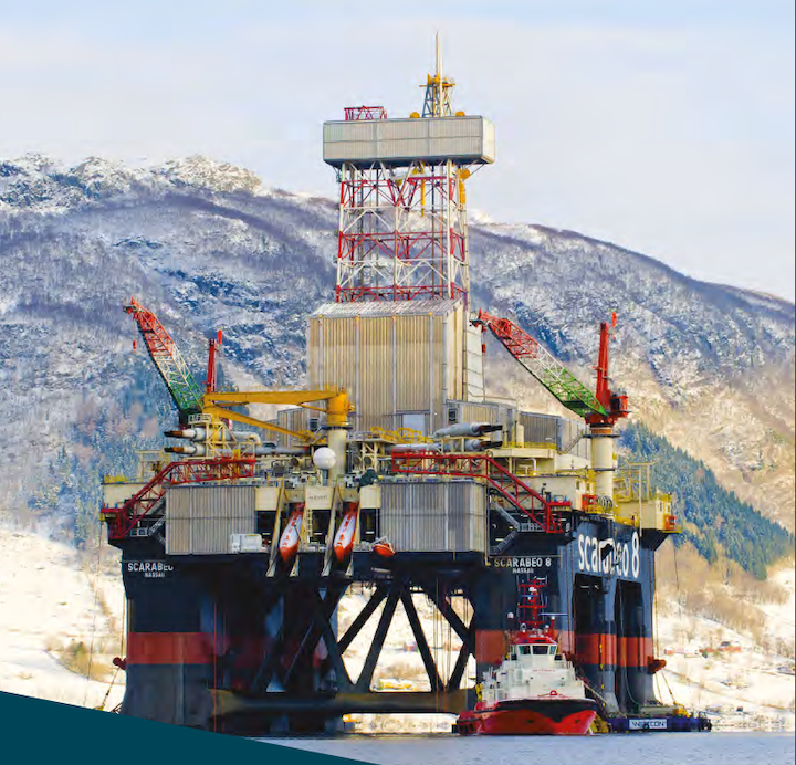 In mid-August, the semisubmersible Scarabeo 8 will start drilling the Kathryn prospect on license PL 910 in the northern North Sea.
