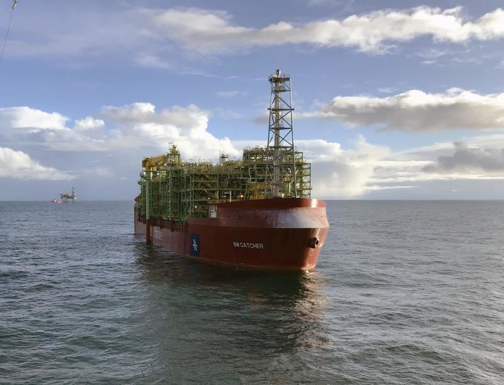 The Catcher North and Laverda oil fields are expected to be tied back to the FPSO BW Catcher.