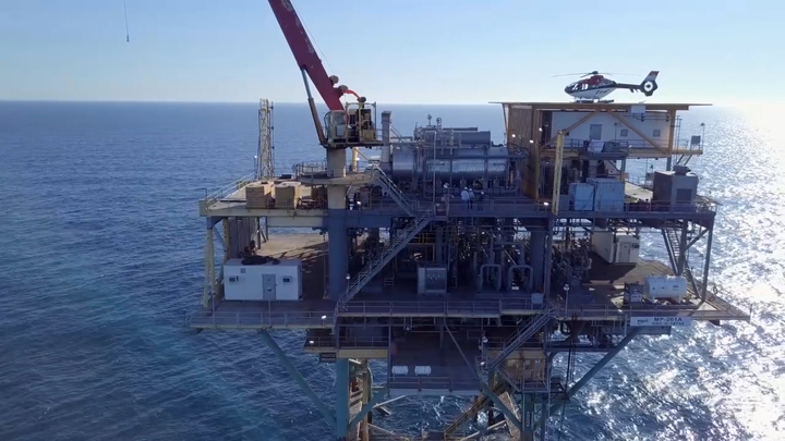 Williams' Norphlet deepwater gathering pipeline system is delivering gas into its Transco system at the Main Pass 261A junction platform.
