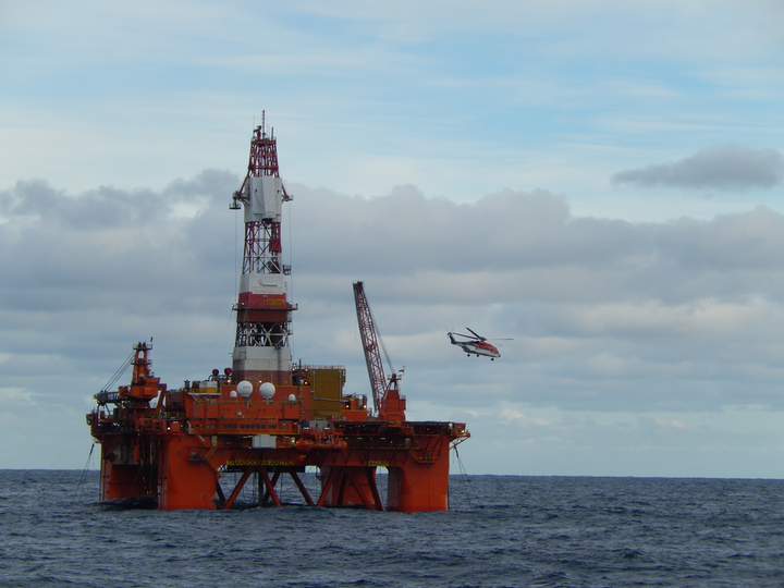 The semisubmersible Transocean Arctic has started production drilling on the Dvalin gas field in the Norwegian Sea.