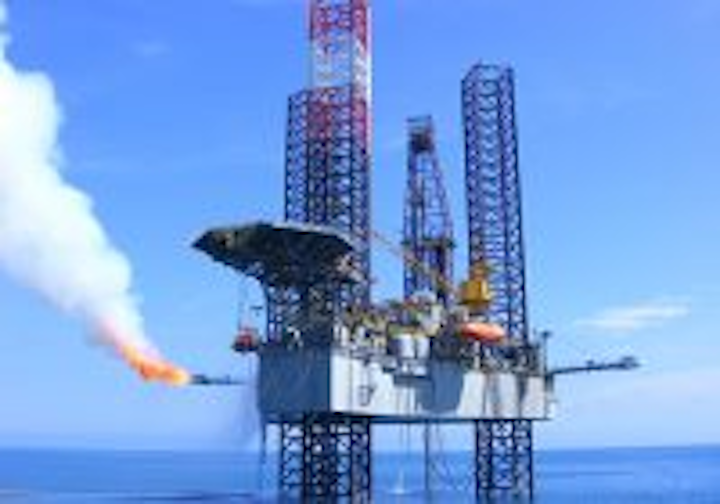 The jackup Shelf Drilling Resourceful is under contract to Chevron offshore Nigeria.