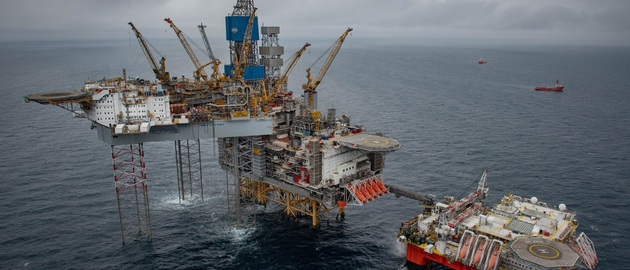 The accommodation rig Safe Boreas at the Mariner complex in the UK northern North Sea.