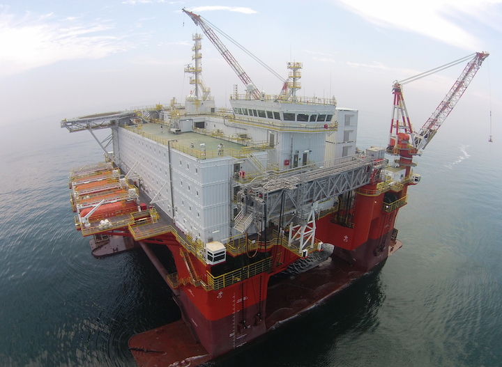 During 4Q, the Safe Eurus will begin a three-year contract to provide safety and maintenance support to Petrobras offshore Brazil.