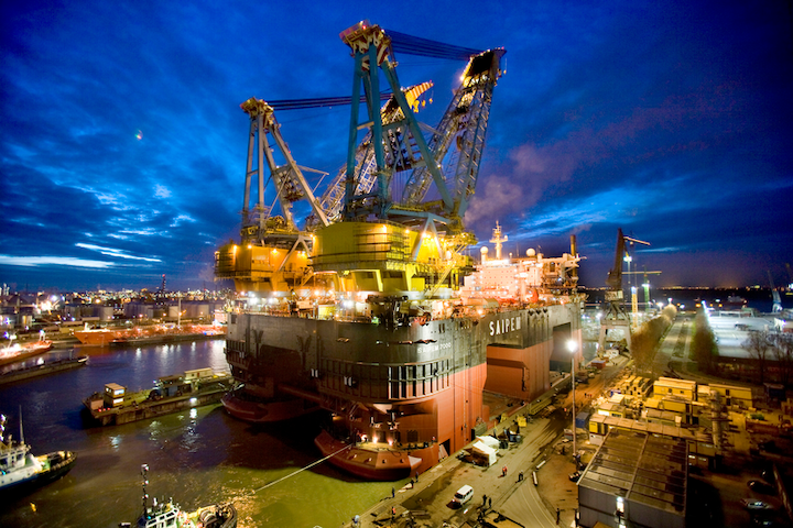 The Saipem 7000 will be the first of five construction vessels to use ShipManager Hull.