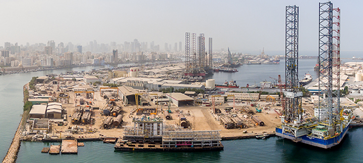 The Sharjah facility is in Port Khalid.