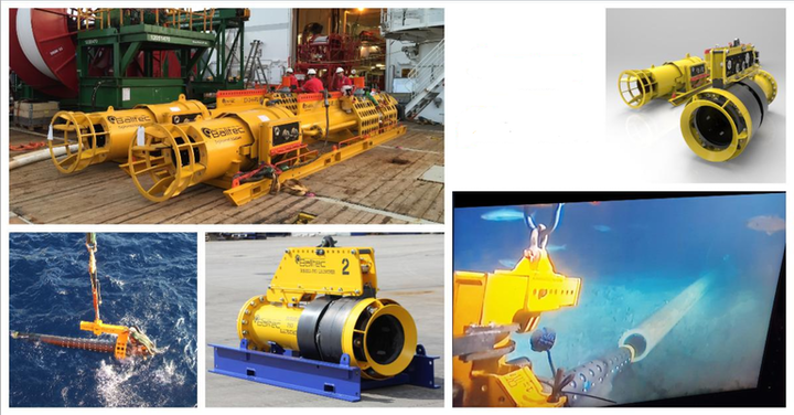 The PipeLOK pipeline recovery tools and flangeless subsea PIG launchers will be rented for contingency purposes.