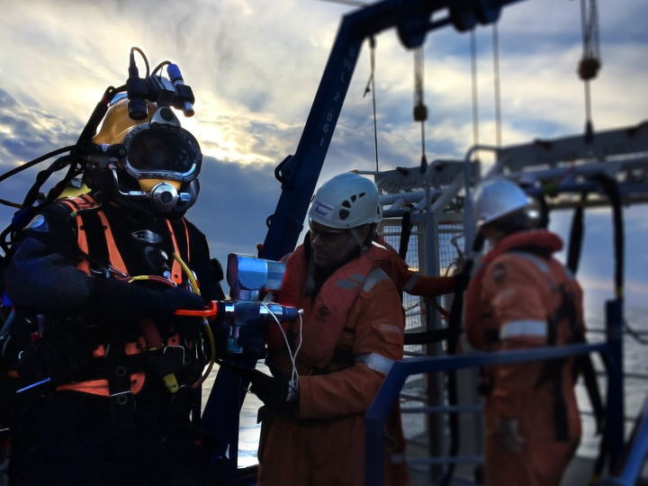 The company used the equipment to diagnose faulty elements in the subsea network on the Greater Guillemot Area field.