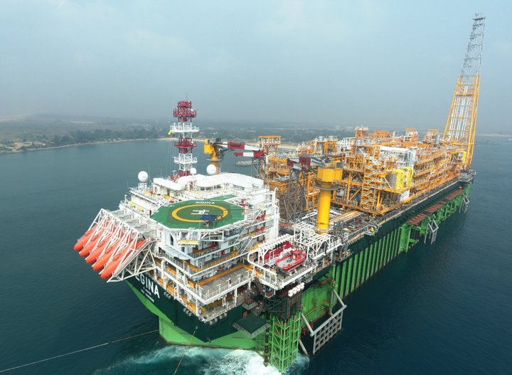 CNOOC holds 45% working interest in the Total-operated Egina oil field offshore Nigeria.