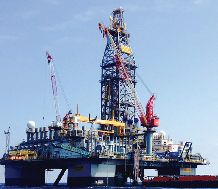 The semisubmersible drilling rig VALARIS 8505 (ENSCO 8505) has won a three-well contract extension from Eni offshore Mexico.