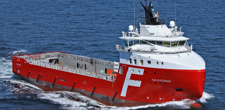 Equinor has extended the contract for the platform supply vessel Far Scotsman offshore Brazil.