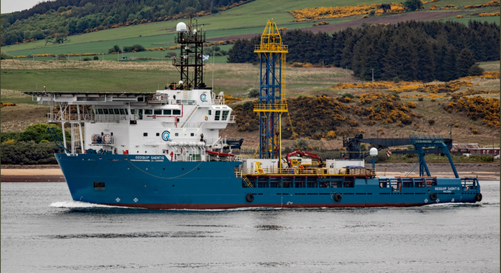 In March, the company took delivery of the DP-2 offshore support vessel Geoquip Saentis.