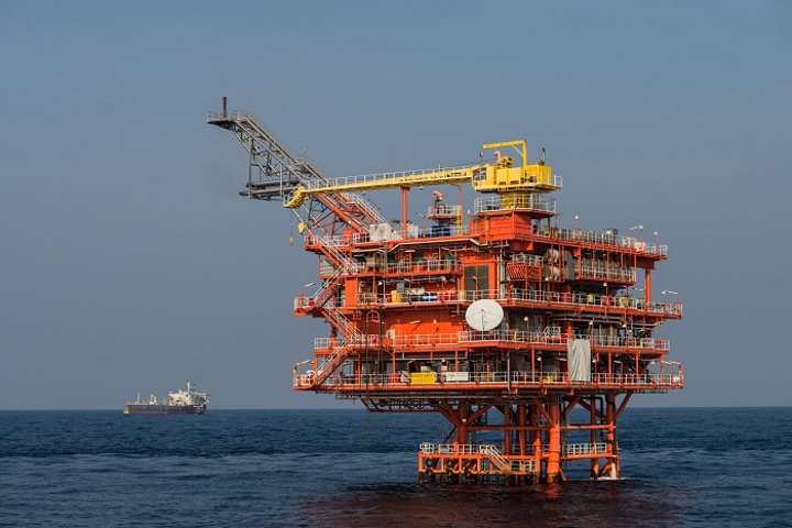 The Manora oil field development is in the G1/48 concession in the Gulf of Thailand.