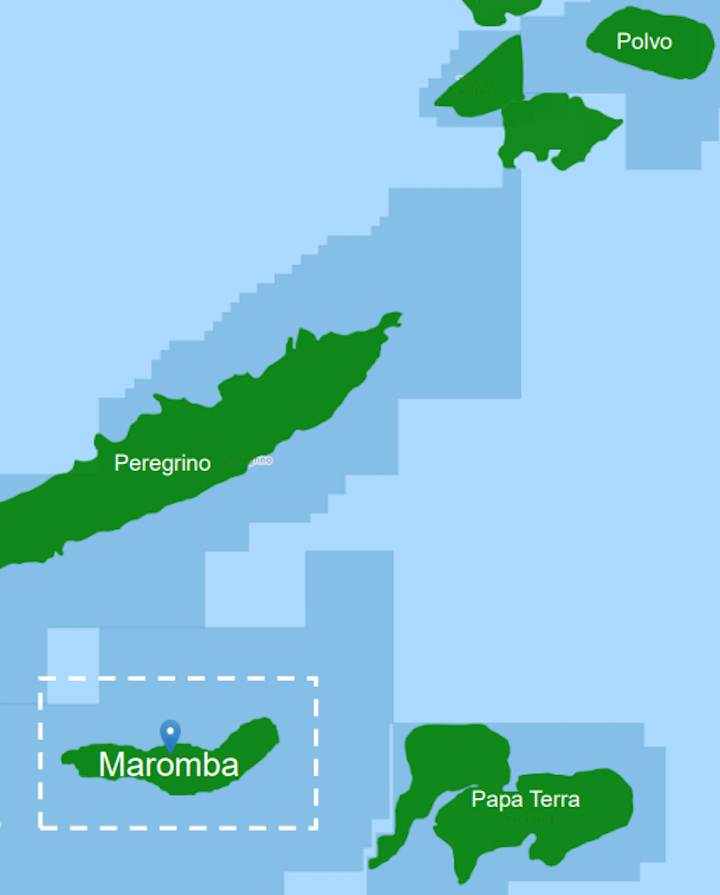 The Maromba field is near the Polvo, Peregrino, and Papa Terra fields offshore Brazil.