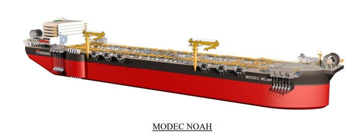 MODEC NOAH was developed to maximize the lifecycle value that each FPSO can provide to beyond 20 years.