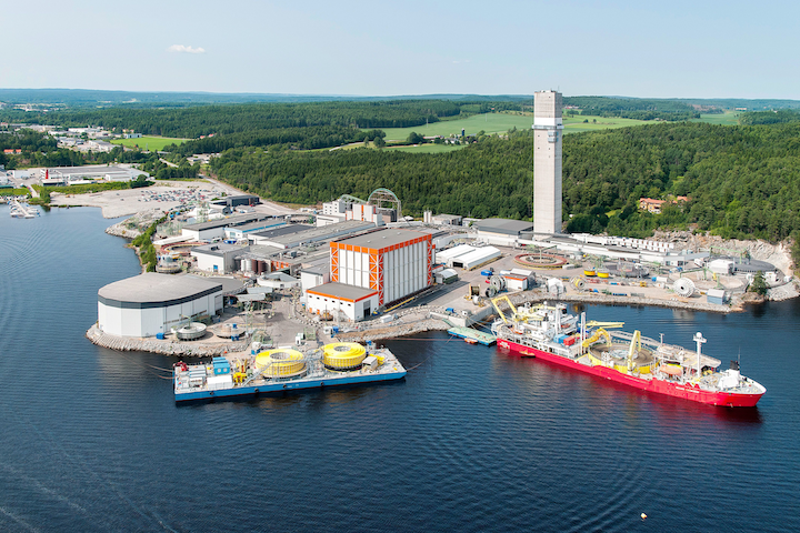 The umbilicals for BP's Greater Tortue Ahmeyim gas project will be be developed, constructed, and tested in at the Nexans plant in Halden, Norway.