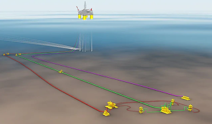 PowerNap is a subsea tieback to the Olympus production hub in the deepwater Gulf of Mexico.