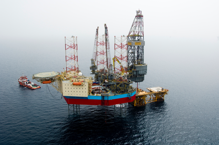 The jackup Maersk Resilient has spudded the appraisal well on the Harvey gas field in the UK southern North Sea.
