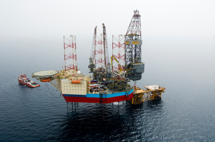 Earlier this month the jackup Maersk Resilient spudded an appraisal well on the Harvey gas field in the UK southern North Sea for IOG.