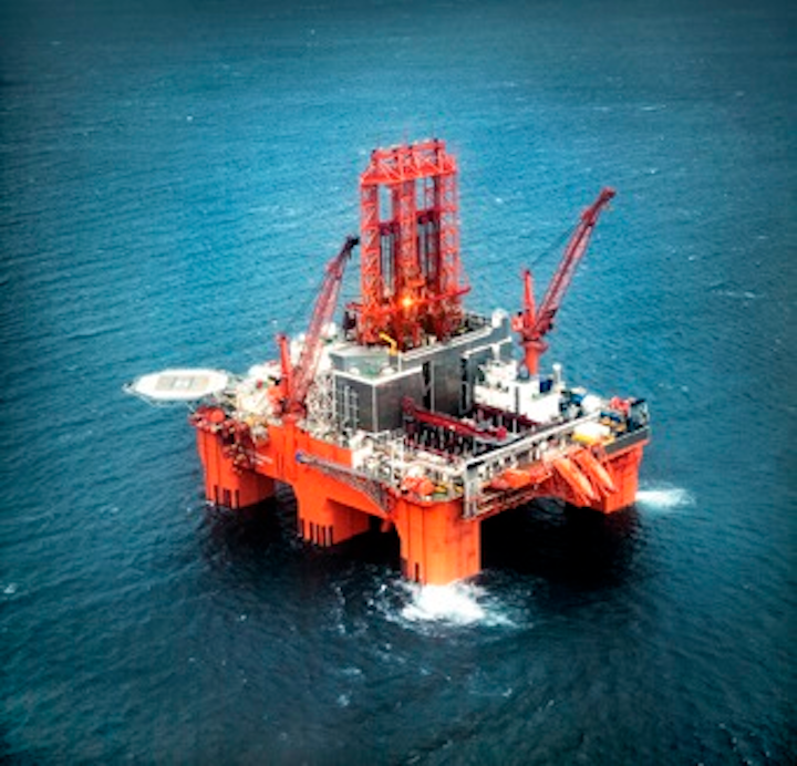 The semisub West Phoenix is expected to spud an exploration well on the Sigrun East prospect in October for Equinor.
