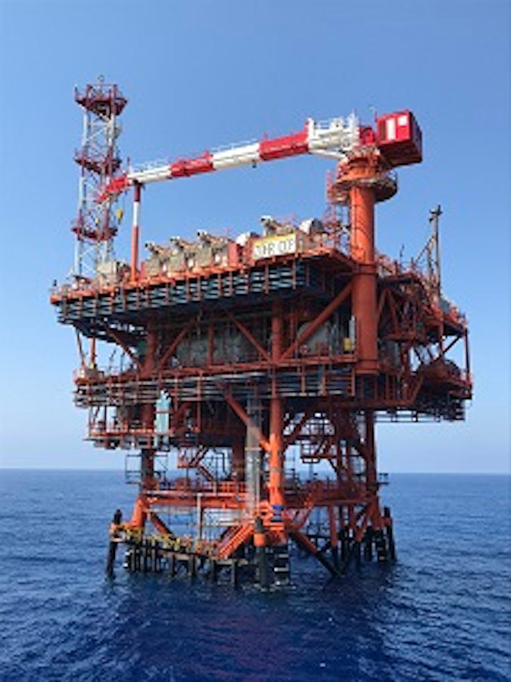 The deepwater Zohr gas field is in the Egyptian sector of the Mediterranean.