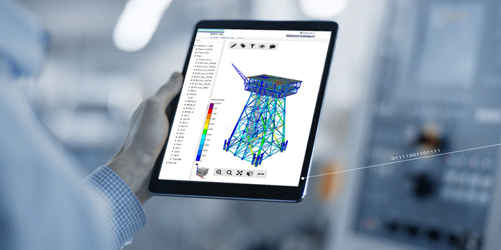 Sesam Insight is said to provide common insight into shared 3D analysis models, which are securely accessible online by all stakeholders with access rights.