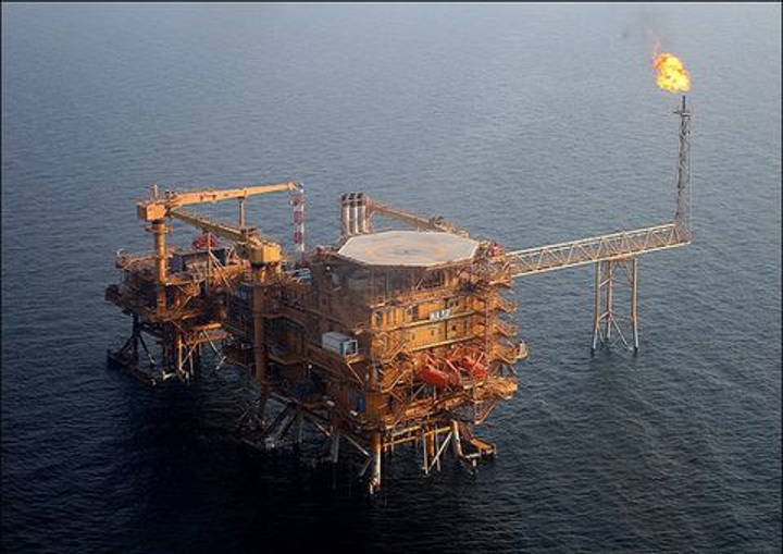 The Bilal gas production will be sent to the South Pars Phase 12 Platform C for processing in the Persian Gulf.