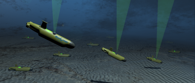 The jointly developed concept uses AUVs which are pre-programmed to self-deploy to the ocean floor and reposition multiple times.