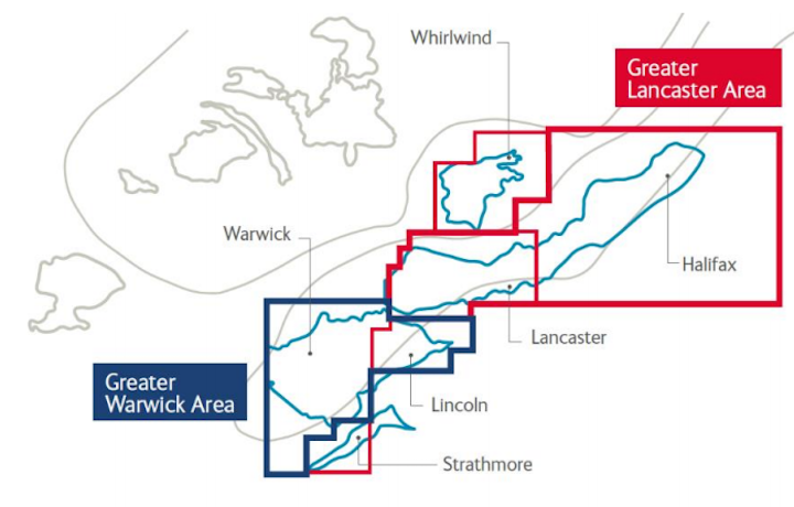 Lincoln Crestal was the second of three wells this year on the Greater Warwick Area.