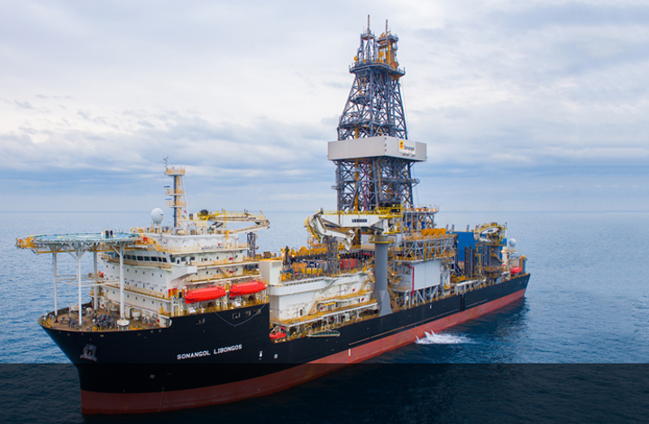 Sonangol took delivery of the drillship Libongos in March 2019.