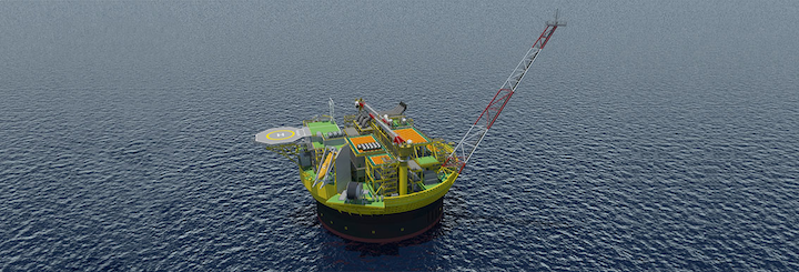 Penguins in the UK northern North Sea is being redeveloped via an FPSO.
