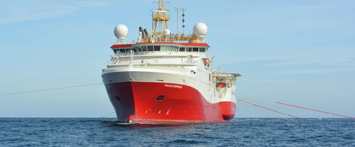 The Polar Empress has booked two seismic acquisition and depth processing programs this year offshore Turkey.