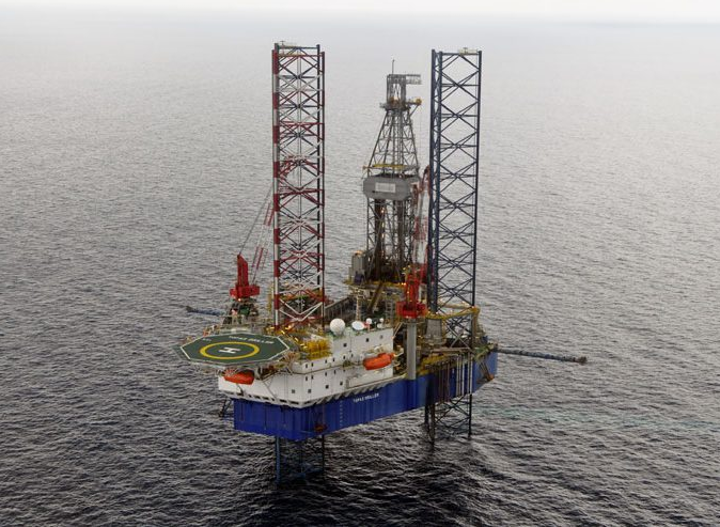 The jackup Topaz Driller will drill the Etame 9P appraisal wellbore and then the Etame 9H development well offshore Gabon.