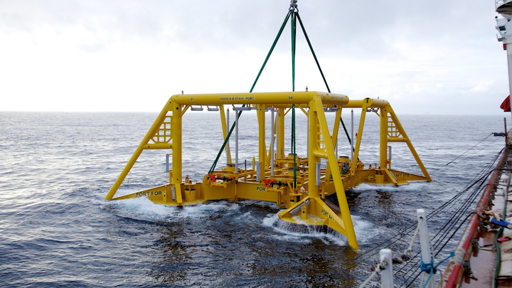 Production from Vigdis comes through seven subsea templates and two satellite wells connected to the Snorre A platform in the Tampen area in the Norwegian North Sea.