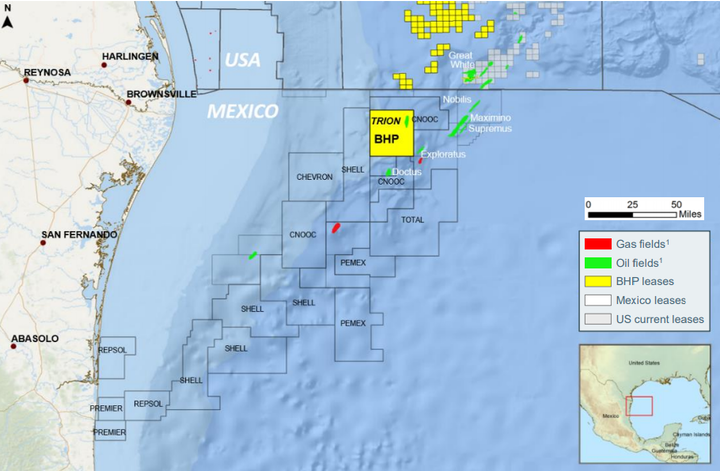 Bhp Awards Mcdermott Led Group Deepwater Trion Pre Front End