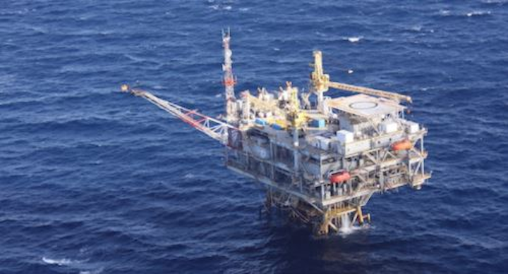 The Lobster fixed platform is in Ewing Bank block 873 in the Gulf of Mexico.